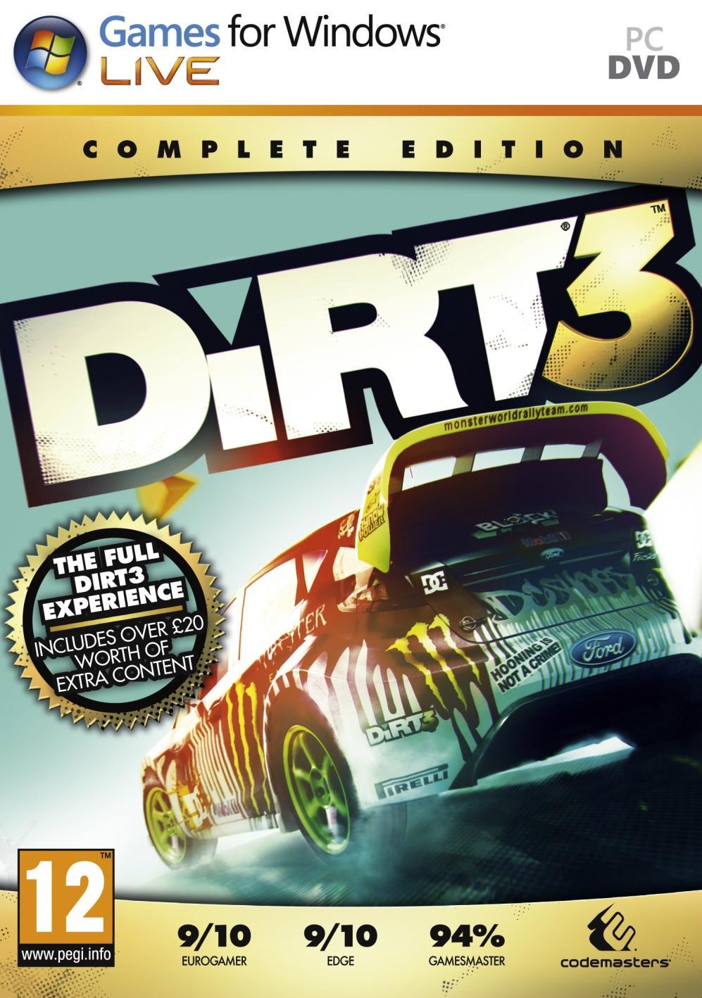 Dirt 3 SKIDROW