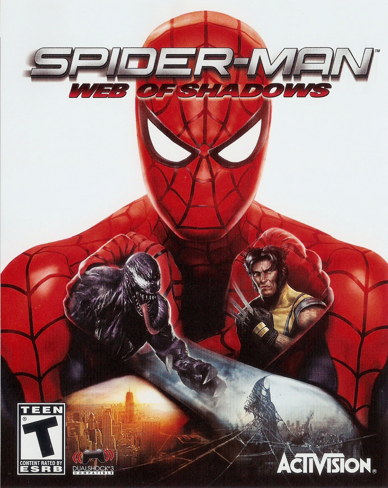 Spiderman Web Of Shadows – Reloaded
