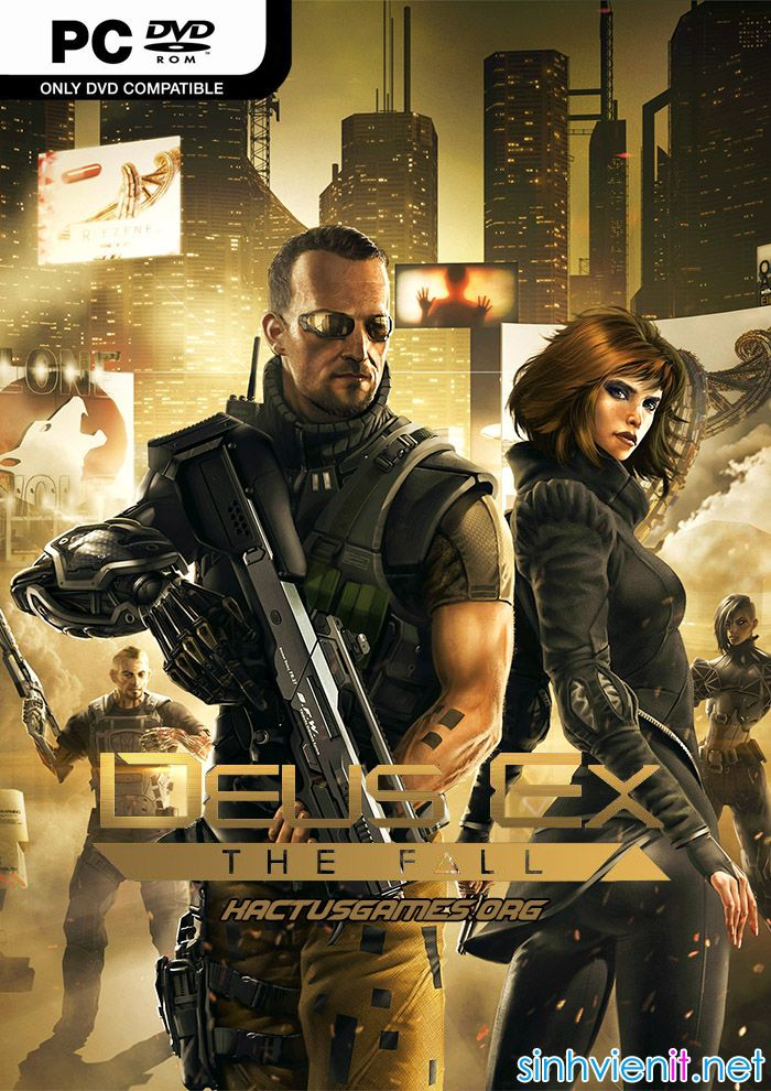 Deus Ex The Fall – RELOADED [Action Adventure | 2014]