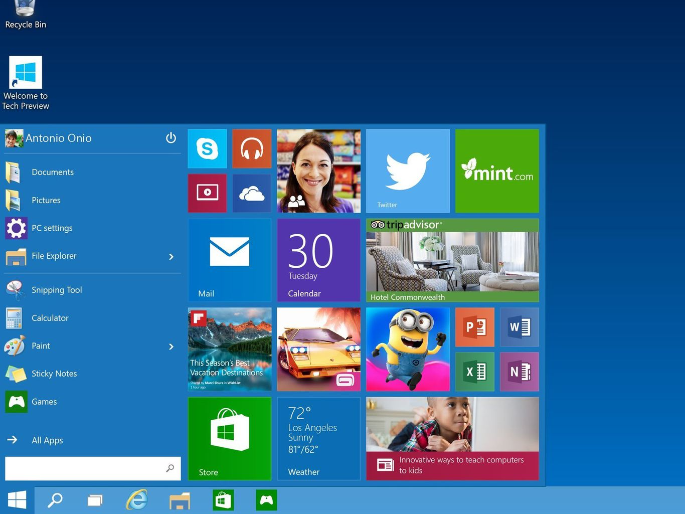 Download Windows Technical Preview (x86/x64) + Review