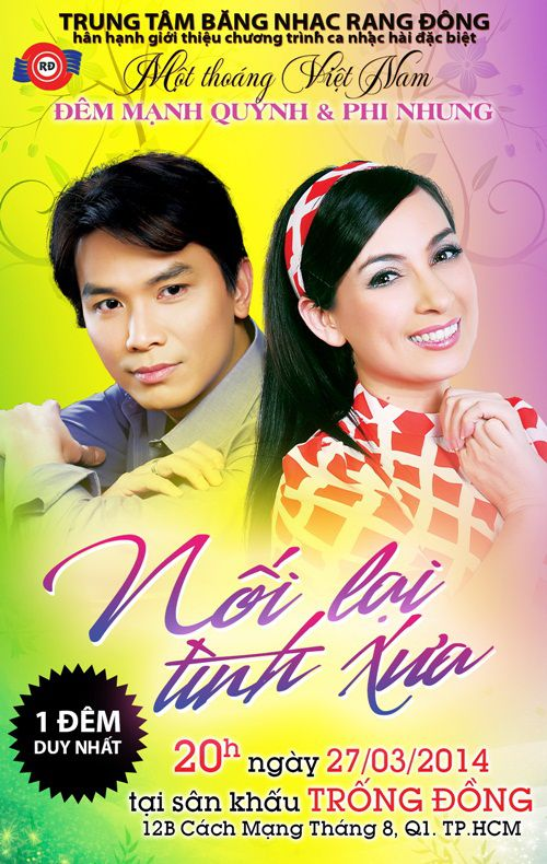 Liveshow Mạnh Quỳnh – Phi Nhung: Nối lại tình xưa (2014)