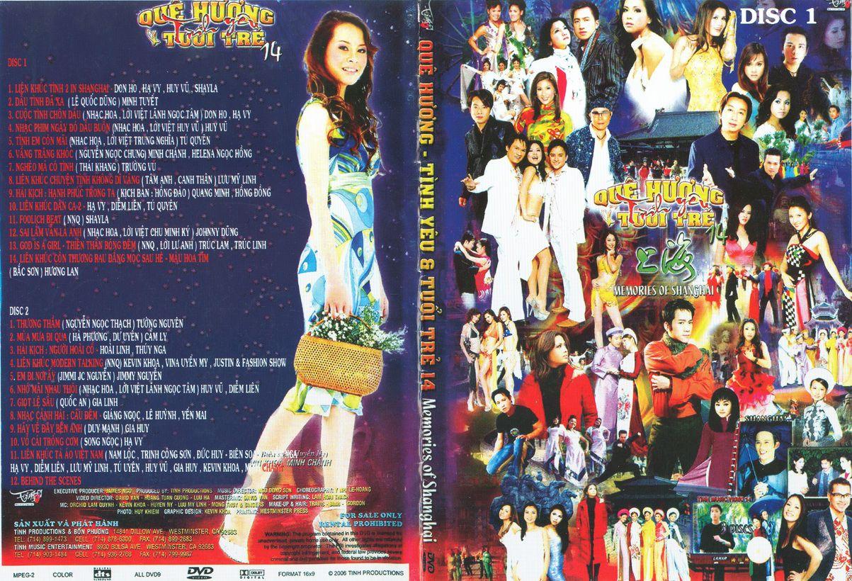 [Ca Nhạc] Tình Productions-Quê Hương Tình Yêu Tuổi Trẻ 14 – Memories Of Shanghai [DVD.ISO]