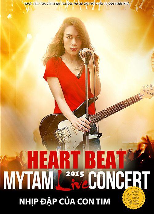 [LIVE SHOW 2015] Live Concert Mỹ Tâm: Heartbeat – Nhịp Đập Con Tim (2015)