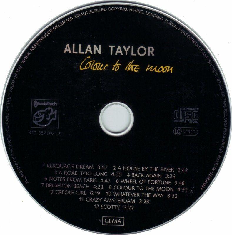 Allan Taylor – Colour To The Moon (2000) [WAV/IMAGE/CUE]