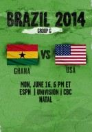 World Cup 2014 – Bảng G – Ghana Vs Hoa Kỳ