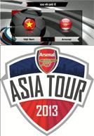 Giao Hữu Quốc Tế Việt Nam vs Arsenal (19h:15 – 17 – 07 – 2013)