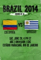 World Cup 2014 – Vòng 2 – Colombia Vs Uruguay