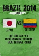 World Cup 2014 – Bảng C – Nhật Vs Colombia