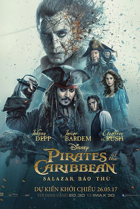 Cướp Biển Vùng Caribê 5: Salazar Báo Thù