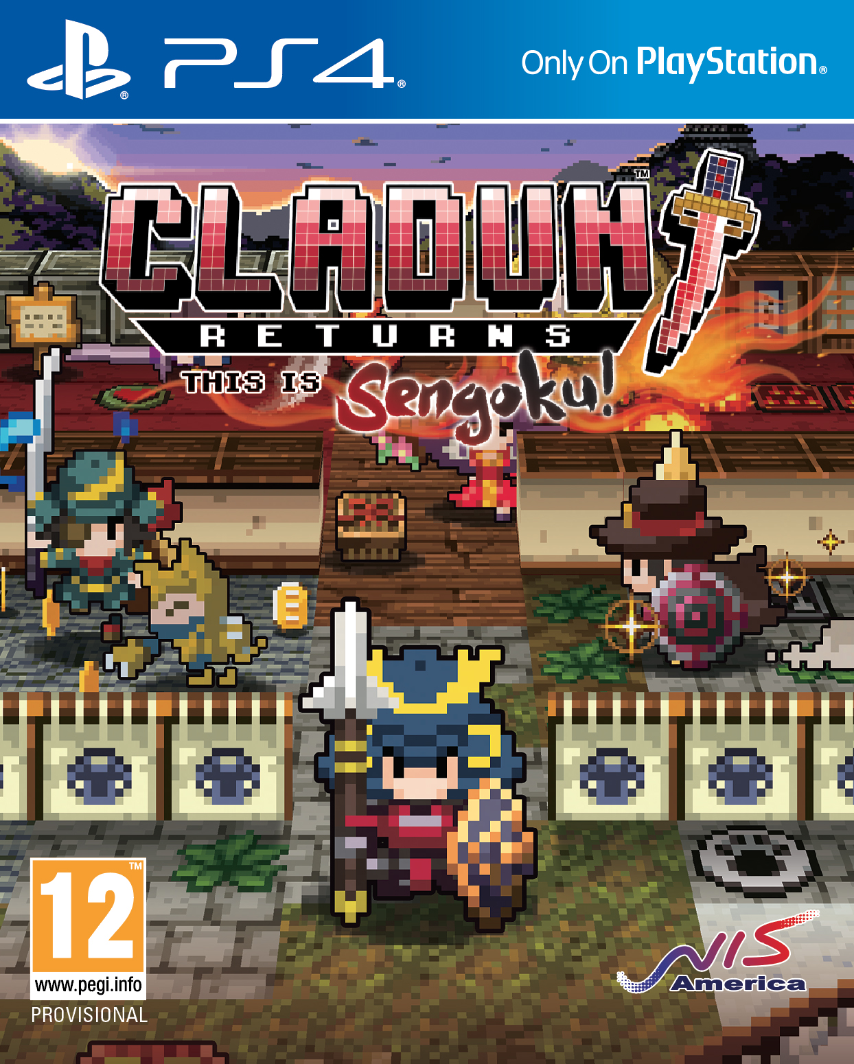 [PC] Cladun Returns: This Is Sengoku! (Action|RPG|2017)