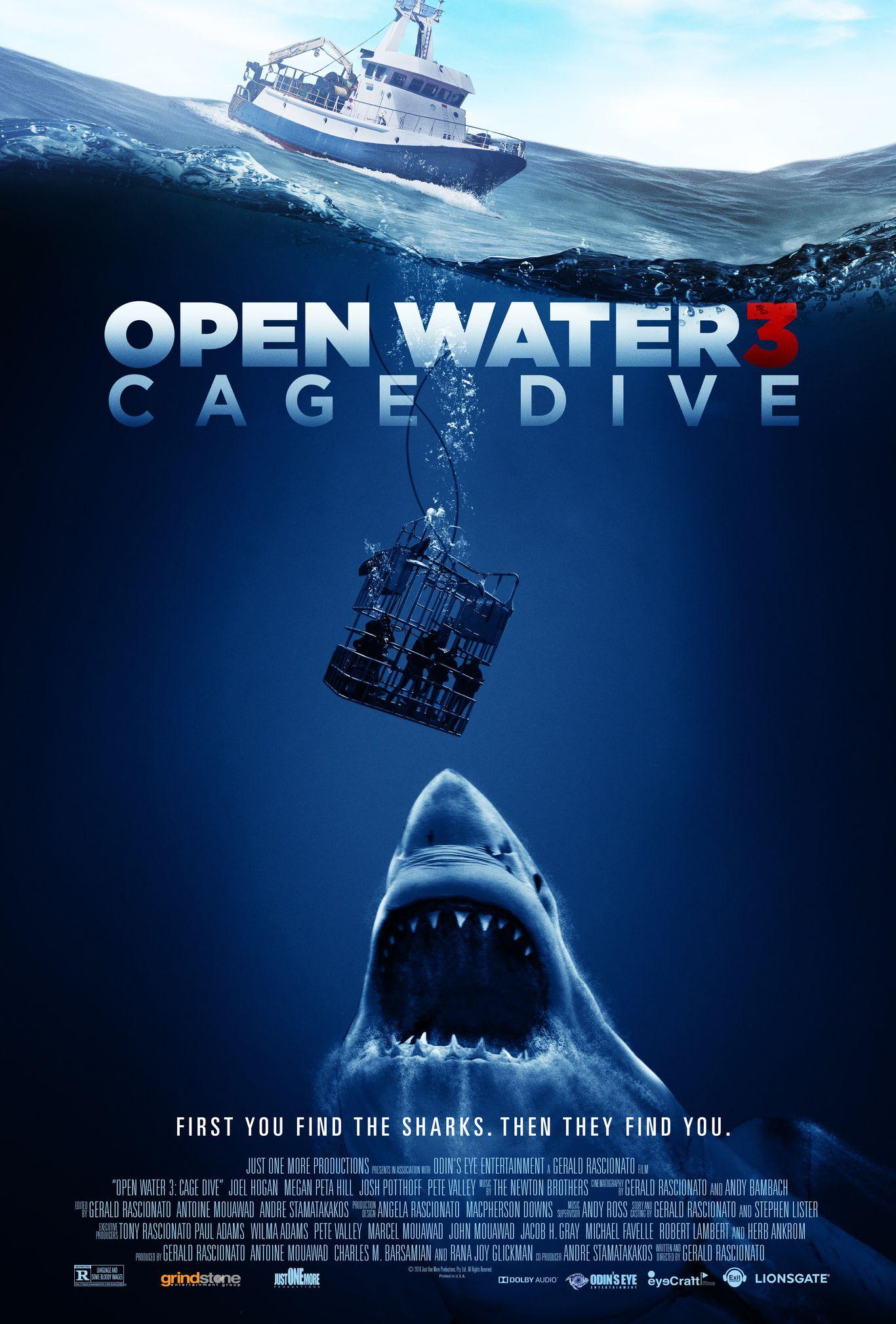 Lênh Đênh Trên Biển 3 / Trong Lồng Lặn / Mồi Cá Mập 3