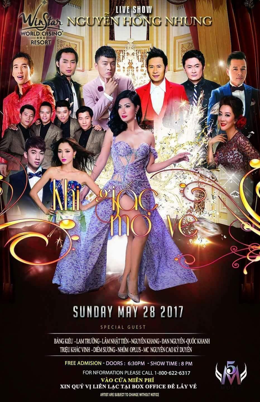 Liveshow Nguyễn Hồng Nhung – Khi Giấc Mơ Về