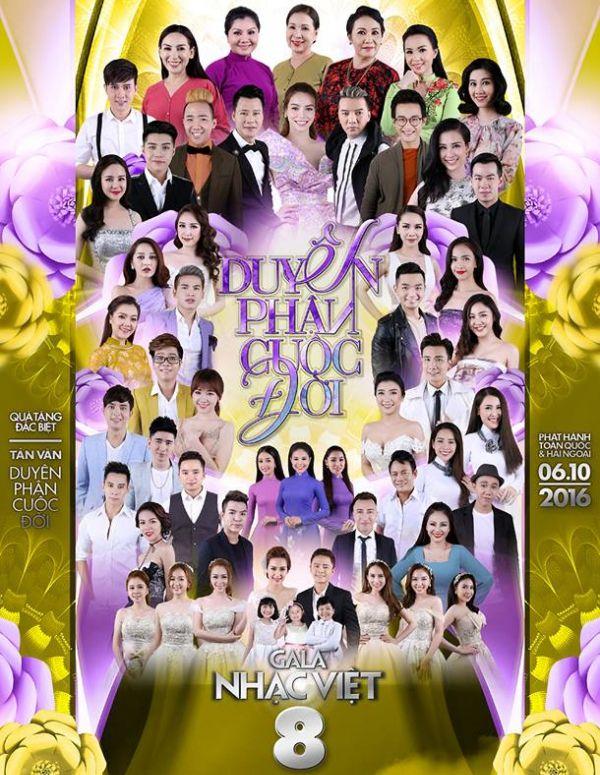 Gala Nhạc Việt 8: Duyên Phận Cuộc Đời
