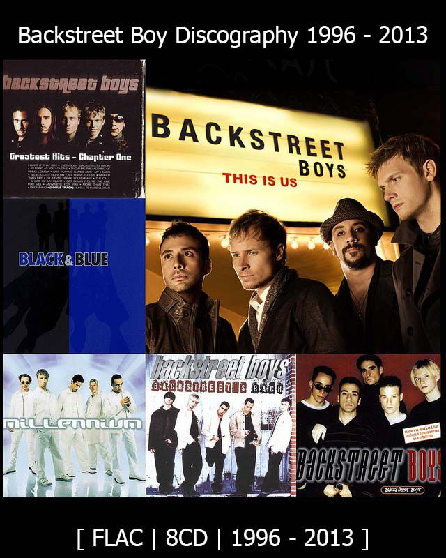 Backstreet Boy Discography 1996 – 2013