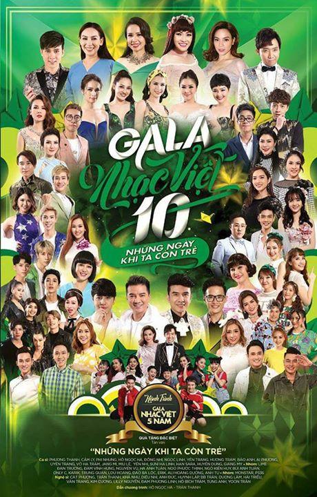 Gala Nhạc Việt 10 – Những Ngày Khi Ta Còn Trẻ