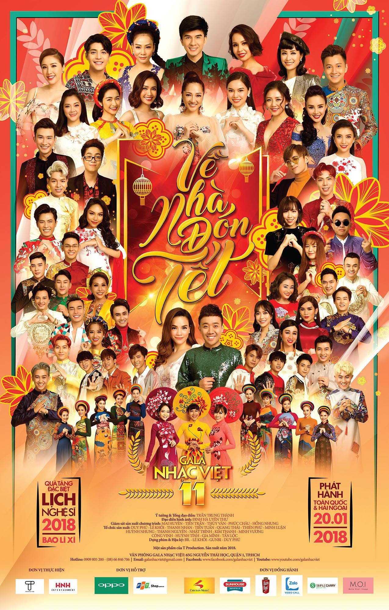 Gala Nhạc Việt 11 – Về Nhà Đón Tết