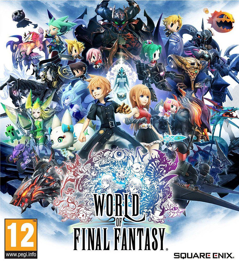 WORLD OF FINAL FANTASY-CODEX [RPG/ISO/2017]