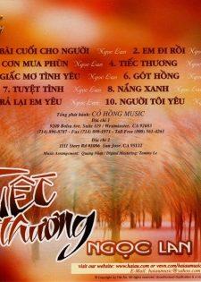 Cỏ Hồng CD : Ngọc Lan – Tiếc Thương