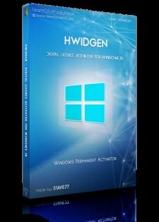 Hwidgen – Phần Mềm Kích Hoạt Bản Quyền Kỹ Thuật Số Windows 10