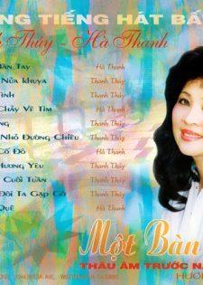 Hương Xưa CD007: Thanh Thúy, Hà Thanh – Một Bàn Tay
