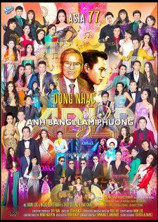 Asia 77 – Dòng nhạc Anh Bằng – Lam Phương 2015