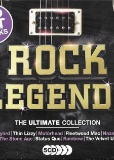 VA Rock Legends – The Ultimate Collection (5CD)(2018) [FLAC]